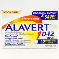 ALAVERT D-12 HOUR