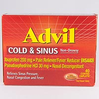 ADVIL COLD & SINUS