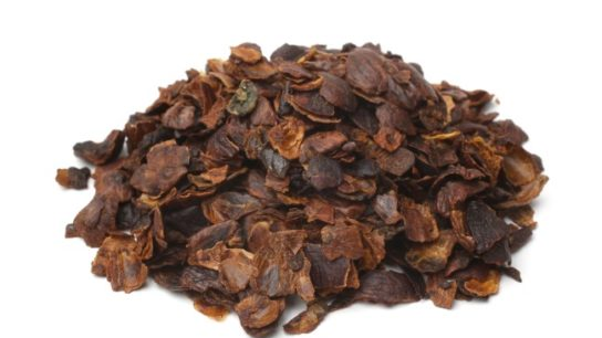 Cascara use is not recommended because there are insufficient data for establishing its safety, and