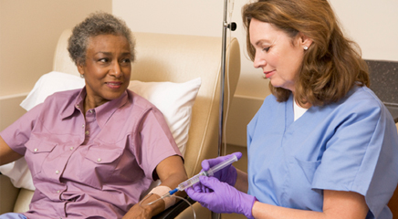 Inpatient versus Outpatient Chemotherapy—Benefits, Risks