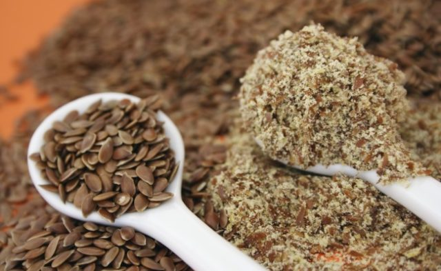 Epidemiologic data of flaxseed dietary intake and high enterolactone serum concentrations suggest th