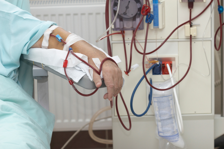 Induction therapy with bortezomib and high cut-off hemodialysis may be an effective treatment in mul