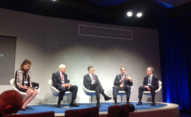 """Speakers at the 2016 Concordia Summit's panel, """"Precision Medicine in Cancer Research,"""" discussed th"""