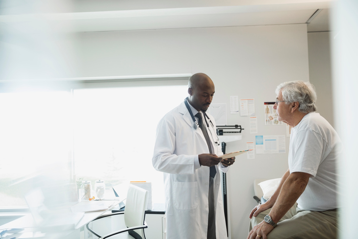 Researchers found that, among men previously treated for lymphoma, the incidence of breast cancer is