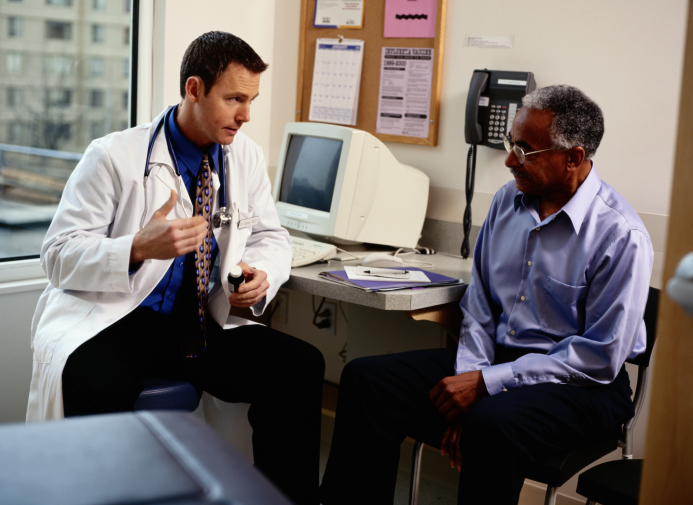 Prostate specific antigen levels may be misleading in African American men and a greater workup may
