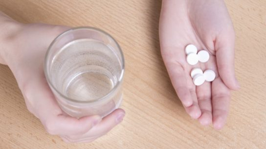 Aspirin Reduces Colorectal Cancer Risk in Patients With High Levels of 15-PGDH