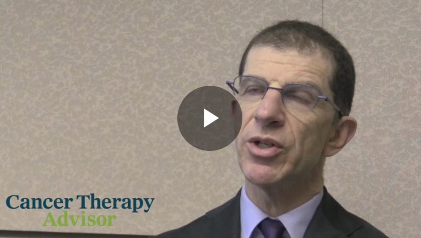 Danny Rischin, MBBS, FRACP, MD, speaks at the American Society of Clinical Oncology (ASCO) 2018 meet