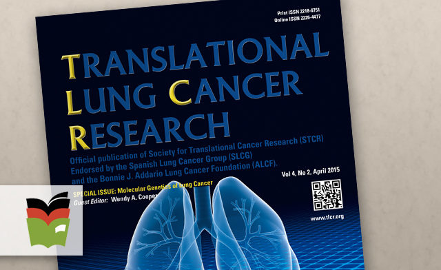 Translational Lung Cancer Research