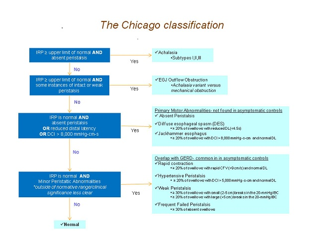 esophageal-motility-chicago-classification