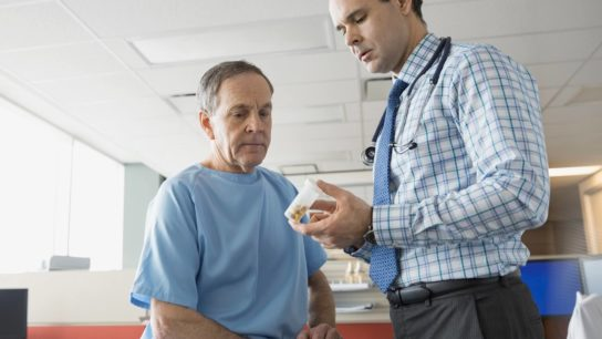 Patients who received elotuzumab plus pomalidomide and dexamethasone demonstrated longer survival.