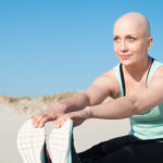 Cancer survivor exercising