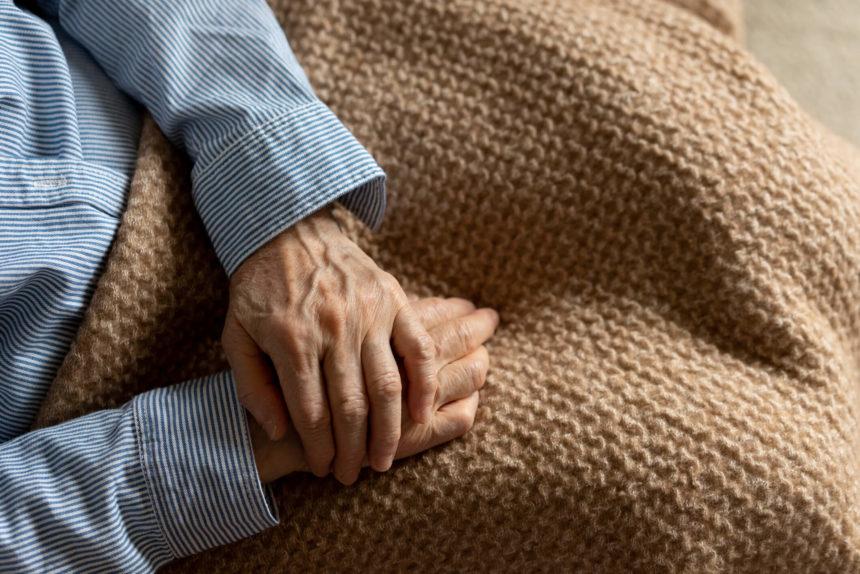 Image of elderly patient.